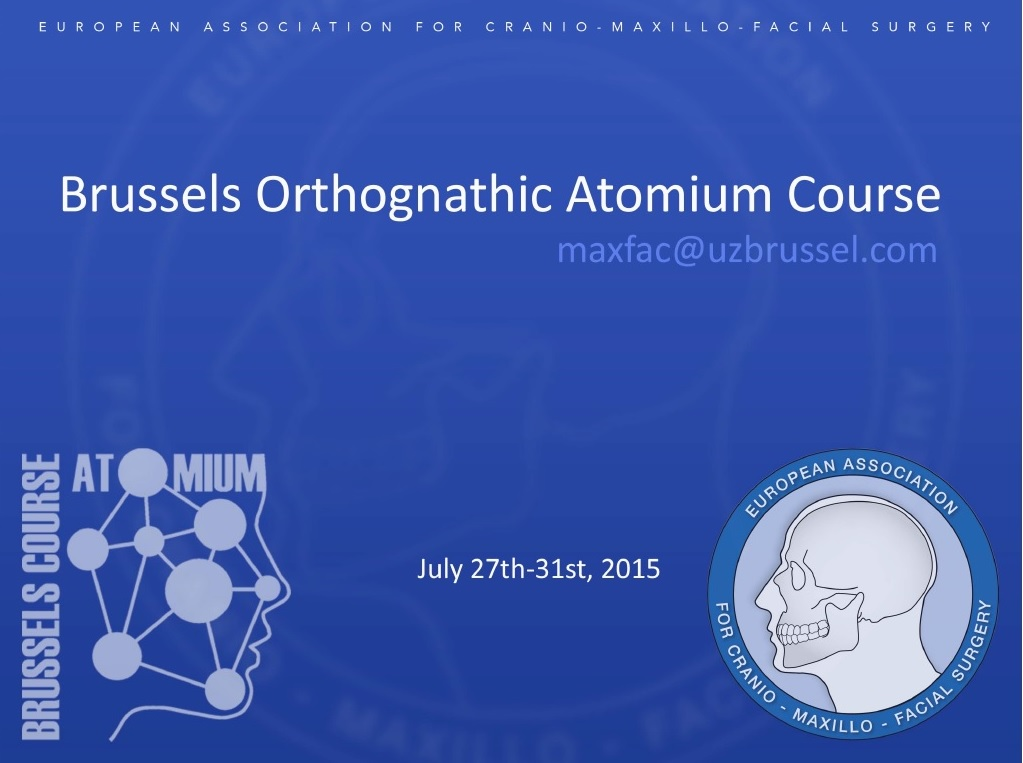 Brussels Orthognathic Atomium Course